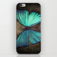 Vintage Butterfly iPhone & iPod Skin