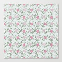 Rose Print Canvas Print