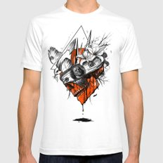 Blind Mens Fitted Tee White SMALL