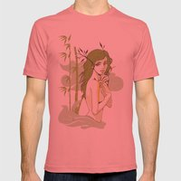 The Strong and The Beautiful Mens Fitted Tee Pomegranate SMALL