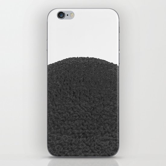 Black sphere iPhone & iPod Skin
