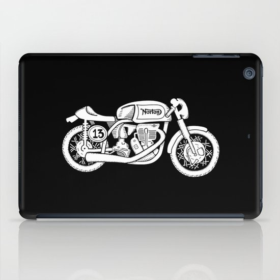 Norton Model 30 - Cafe Racer series #2 iPad Case