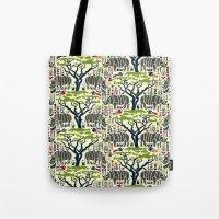 Rhino Jungle Tote Bag
