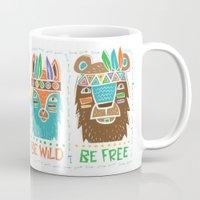 Be Wild, Be Free Mug