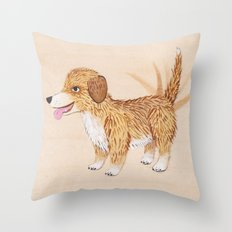 Doggy Throw Pillow