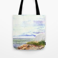 little shore Tote Bag