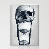Demise of Time Stationery Cards