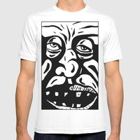Intelligence Mens Fitted Tee White SMALL
