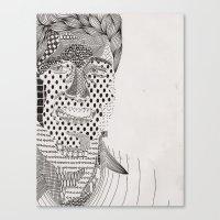 Ders Canvas Print