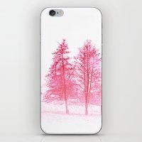 Pink Winter iPhone & iPod Skin