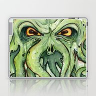 Cthulhu Laptop & iPad Skin
