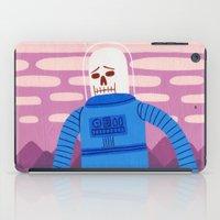 Sad Spaceman  iPad Case