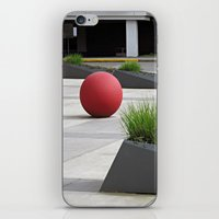 Round and Red iPhone & iPod Skin