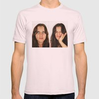 Scout. Mens Fitted Tee Light Pink SMALL