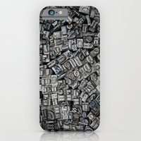 Letters, Letters, Letters iPhone 6 Slim Case