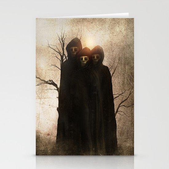 Darkness II Stationery Card