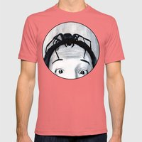 It Keeps Climbing Out The Spout Mens Fitted Tee Pomegranate SMALL