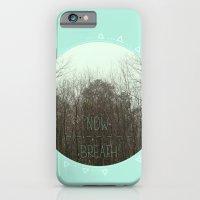 iPhone & iPod Case featuring NOW BREATH (WINTER) by Dora Cuenca ∆ Studio