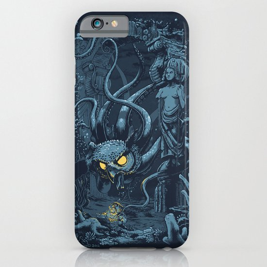 Defender of the Deep  iPhone & iPod Case