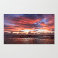 Kapa'a Sunrise Canvas Print