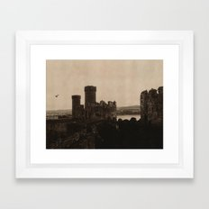 Conwy Castle Framed Art Print