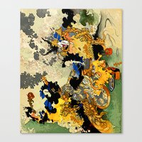 Casting A Spell Over Cha… Canvas Print