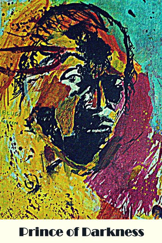 Prince Of Darkness - Miles Davis Portrait Art Print