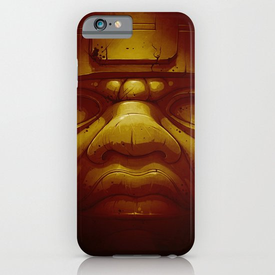 Olmeca II. (Gold) iPhone & iPod Case