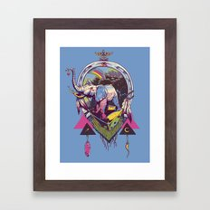 bona fortuna Framed Art Print