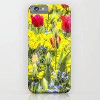Summer Flowers Art iPhone 6 Slim Case