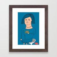 alone2 Framed Art Print