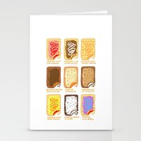 Pop Tart Pop Art Stationery Cards