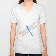 dragonfly v2 Unisex V-Neck