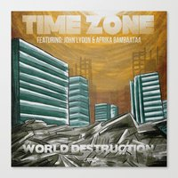 7 Inch Series: Time Zone… Canvas Print
