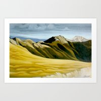 Main Range, Tararuas Art Print