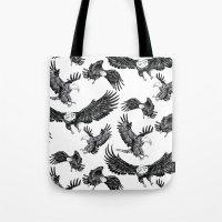 Eagles Pattern Tote Bag