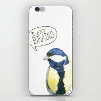 I Eat Brains 2.0 iPhone & iPod Skin