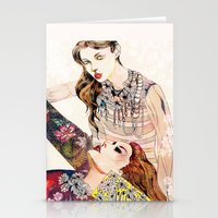 Fashion Necklace  Stationery Cards