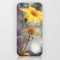 Yellow Florals iPhone 6 Slim Case
