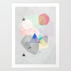 Graphic 170 Art Print