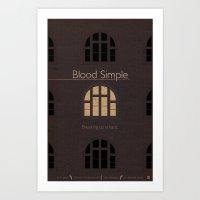 Film Friday No. 1, Blood Simple Art Print