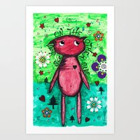 See you on the other side Art Print