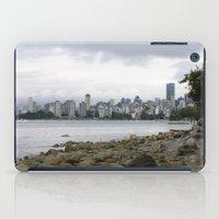 Vancouver City Skyline iPad Case