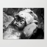 Cherub With Headdress Canvas Print