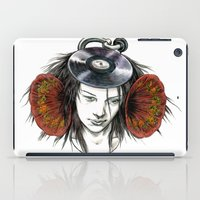 Record Head iPad Case