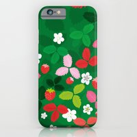 iPhone & iPod Case featuring Wild strawberries by Tove Andersson