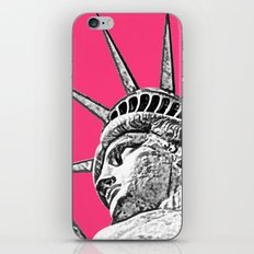New York Statue Of Liberty iPhone & iPod Skin