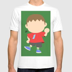 Villager♂(Smash)  Mens Fitted Tee White SMALL