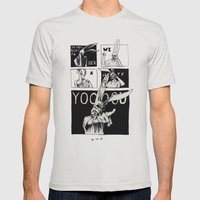 For Those About To Rock Mens Fitted Tee Silver SMALL