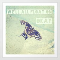 Butterfly Inspiration Art Print